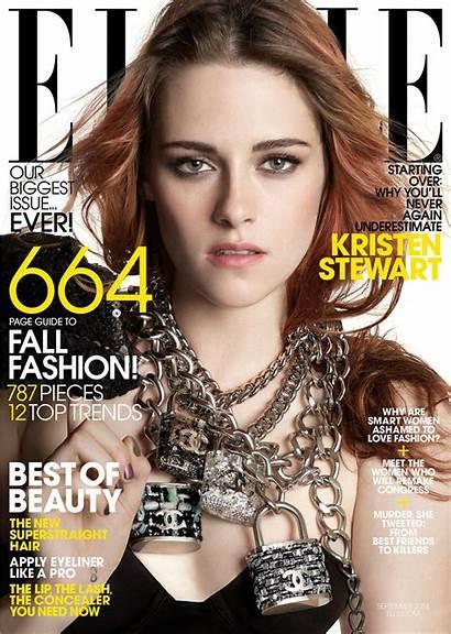 Elle Magazine Kristen Stewart Issue September Celebmafia