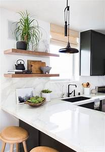 17 mejores ideas sobre cocina de estantes flotantes en With kitchen cabinet trends 2018 combined with metal wall art cheap