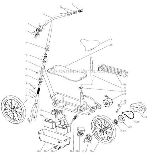 Razor Ecosmart Parts List Diagram Ereplacementparts