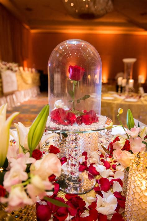 24 Beauty and the Beast Themed Quinceanera Beauty beast
