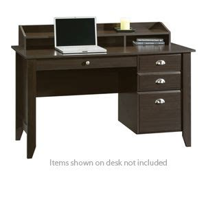 Sauder Executive Desk Jamocha by Sauder 409733 Jamocha Wood Office Desk At Tigerdirect