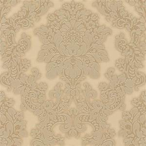 Arthouse Vintage Vicenza Damask Wallpaper Gold (270403 ...