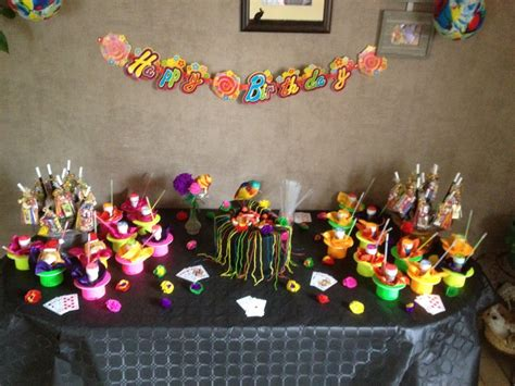 d 233 coration gouter anniversaire enfant la table magicien anniversaires enfants