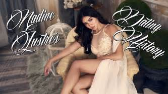 nadine lustre dating history men nadine lustre has dated youtube