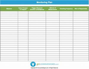 monitoring plan template example With project monitoring plan template