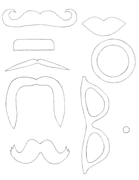 photo booth templates cristin emrick photography diy photo booth props