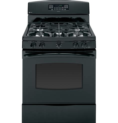 ge profile   standing  clean gas range pgbdetbb ge appliances