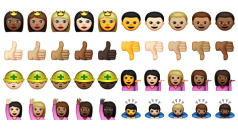 Apple Releases Highly-anticipated Racially-diverse Emojis