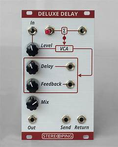 Eurorack  U2013 Deluxe Delay  U2013 Stereoping Music Devices