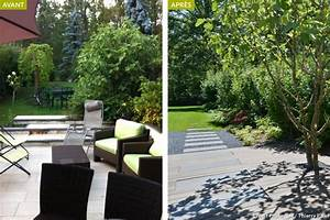idee amenagement jardin devant maison idee deco jardin With amenagement d un petit jardin de ville 12 avant apras amenager un jardin tout en longueur