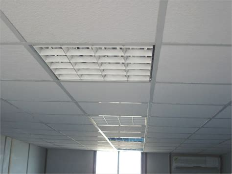 installation  suspended false ceilings