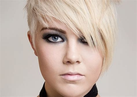 Very Short Hairstyles For Fat Facesshort Haircuts Round