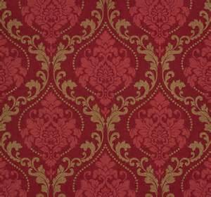 tapete fã r wohnzimmer rasch tapete gentle elegance 725650 barock rot pink gold