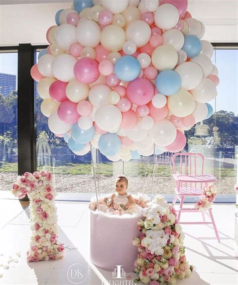 Baby First Birthday Decoration Ideas Elitflat