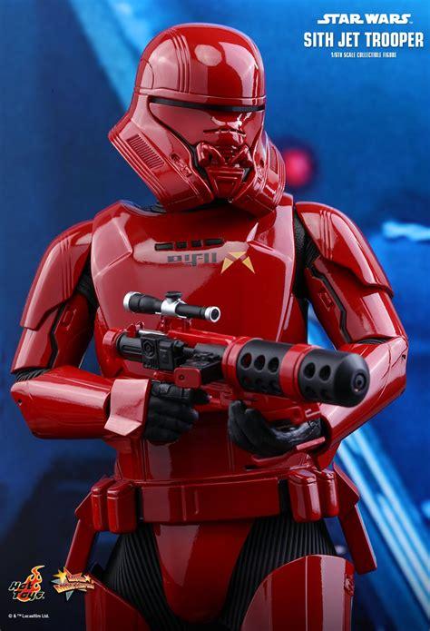 sith jet trooper star wars  rise  skywalker  figure hot toys  def ninja pop