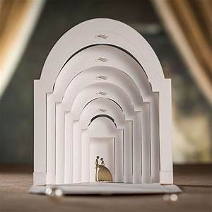 laser cut 3d pop up wedding invitations with groom and With wedding invitation pop up card bride and groom