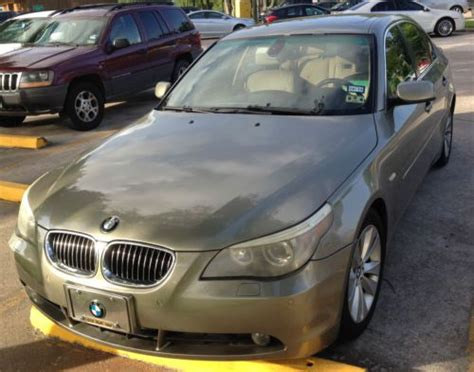 purchase used 2005 bmw 545i base sedan 4 door 4 4l nav heated seats 8 cylinder in pearland