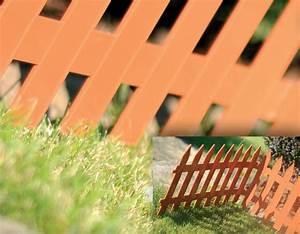 Zaun 2m Hoch : 3 2m zierzaun 27cm hoch terrabraun zaun gartenzaun friesenzaun ~ Frokenaadalensverden.com Haus und Dekorationen