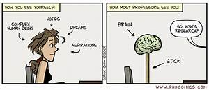 PHD Comics: Brain on a stick