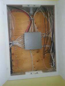 Panel Moved To Garage But Junction Box In Bathroom  Up To