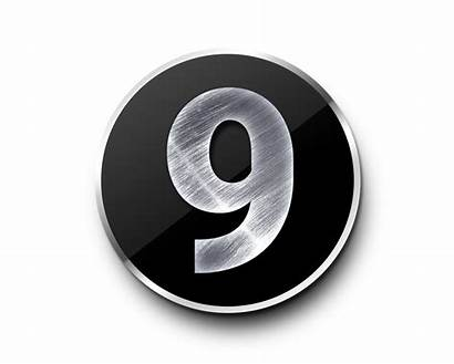Metal Numbers Number Template Psd Psdgraphics 3d