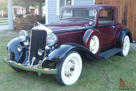 1933 Dodge Do, Straight 8, Dual Sidemount, Rumbleseat Coupe