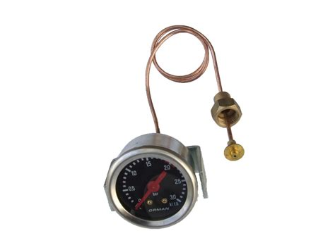 Whether your espresso machine has a brew pressure gauge or not, this is a constant you can count on. Gaggia TS Pressure Gauge Manometer