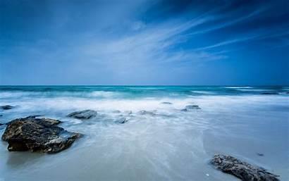 Sky Sea Nature Stone Wallpapers Screen Water