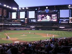 Chase Field Seating Chart Chase Field Arizona Diamondbacks Ballpark Ballparks Of