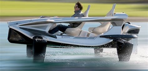 Man Powered Hydrofoil Boat by Hydrofoils