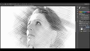 Pencil Drawing  Sketch Effect  - Photoshop Tutorial