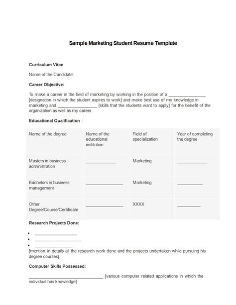 21 marketing resume templates for every seeker wisestep