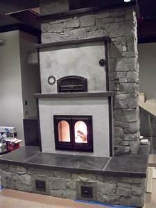 Michael Thronson Masonry  Masonry Heater In Limestone