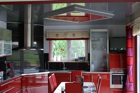 The Stretch Ceiling In The Kitchen by Don T Forget To Design Your Kitchen Ceiling