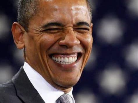Obama Laughing Meme - unobjectionable immigration reform pearlsofprofundity