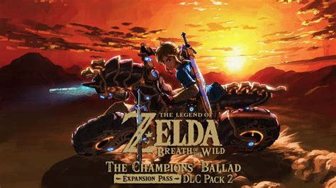 Dlc Zelda Breath Of The Wild Zelda Breath Of The Wild Chions Ballad Dlc Is Out Now