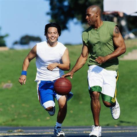playing basketball  effect   cardio respiratory
