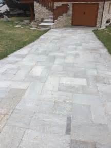 pavimenti  esterni  pietra porfidi mosaici