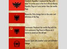 Albania Preview image Victoria 2 Flag Replacement Pack