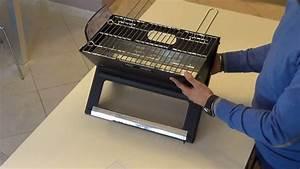 Rauchfreier Grill Lidl : unboxing e montaggio barbecue bbq grill pieghevole in ~ Jslefanu.com Haus und Dekorationen