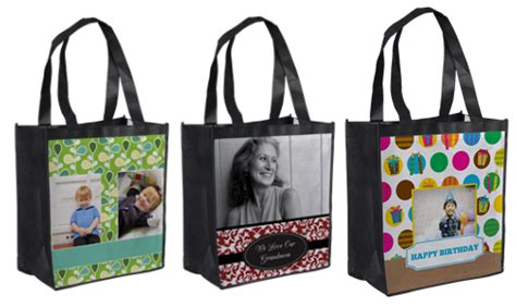 personalized grocery tote bag