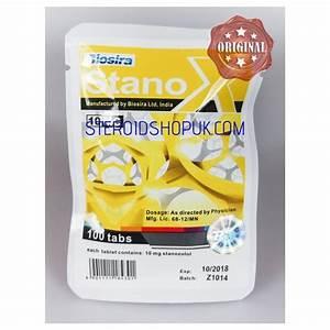 Stanox Biosira  Stanozolol  Winstrol  100 Compresse  10mg  Scheda
