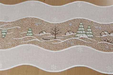 Weihnachtstischdecken Gunstig by Tischband Zu Weihnachten Modern Aus Plauener Spitze