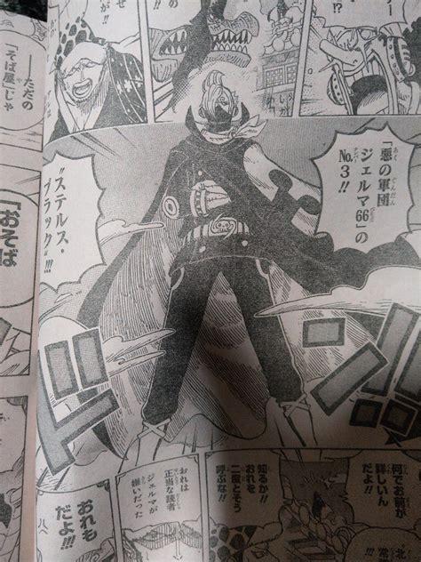 piece manga  revealed sanjis raid suit secret