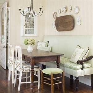 breakfast area traditional kitchen charlotte by With dining room table with bench against wall