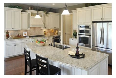 kitchen with island pembroke by drees homes at river trace future home 7172