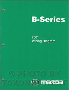 2001 Mazda Pickup Truck Repair Shop Manual Original B2300