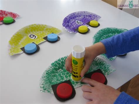 childrens crafts to make car craft activity for learning 4