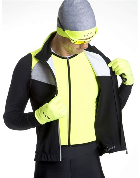 mens fluorescent cycling jacket cycling winter jacket for men g4 dimension