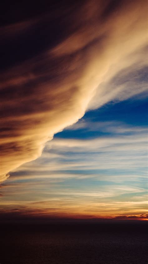 Download free phone backgrounds nature hd for desktop or mobile phone (iphone/android) high quality hd/4k.nature, sunset, sunrise, clouds background picture 1600×1200 px. Sunset Clouds iPhone Wallpaper - iDrop News